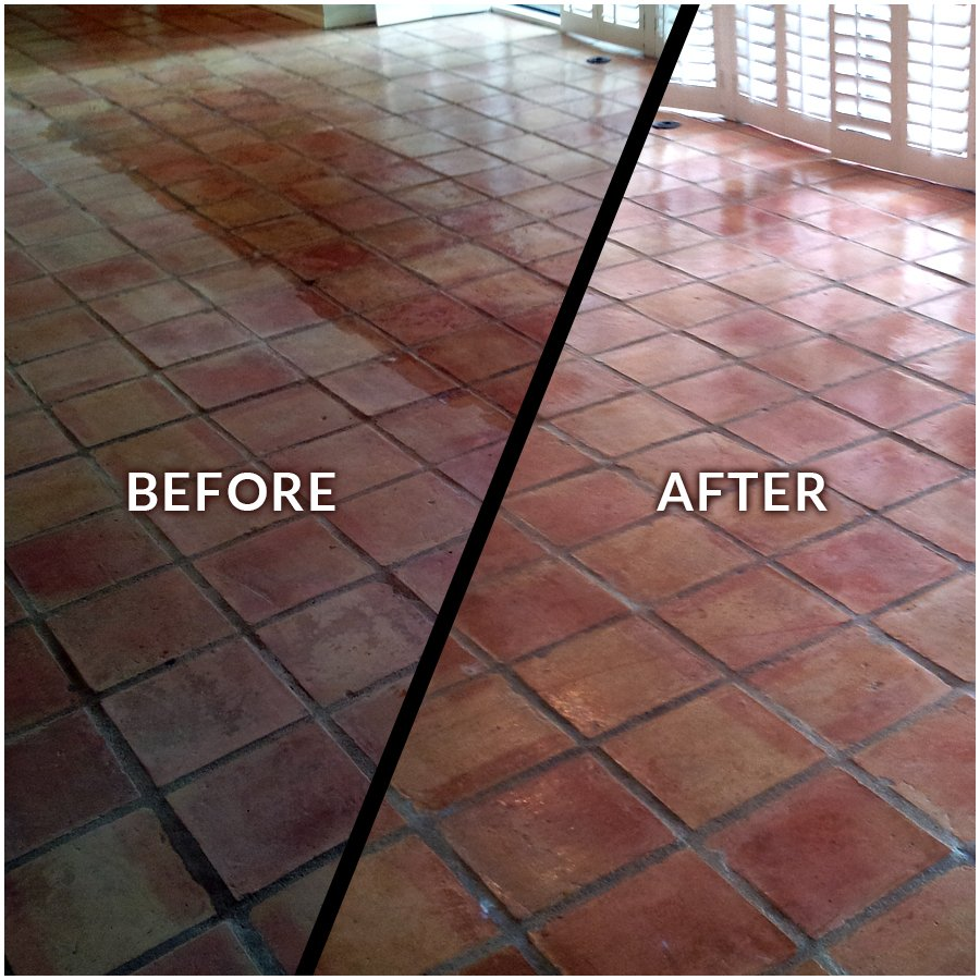 Saltillo Tile Restoration And Sealing